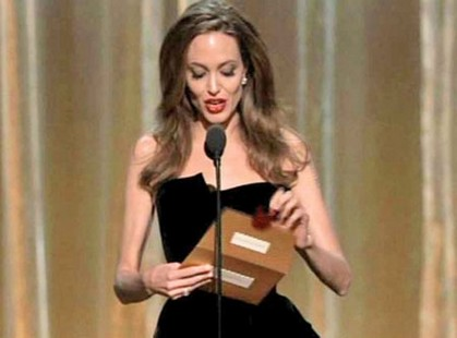 Angelina Jolie Starving Herself As Her Hair Falls Out In Clumps