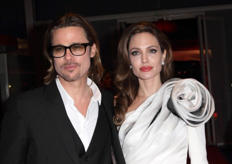 Angelina Jolie Using Mastectomy To Promote Brad Pitt's Movie, World War Z? 0529