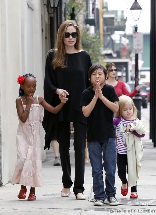 Angelina Jolie and Brad Pitt's Housekeeper Exposes Horrifying Homelife