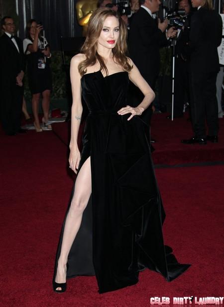 Angelina Jolie Raising A Big Stink