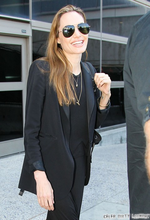 """Angelina Jolie's Eating Disorder: Loves How Her Anorexic Appearance Screams """"Look At Me!"""""""