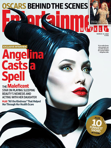 Angelina Jolie Dishes On Maleficent, Admits She Doesn't Want Her Children To Be Actors! (PHOTO)