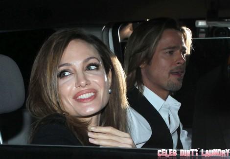 Breaking News: Brad Pitt Reveals his Angelina Jolie Wedding Plans Today