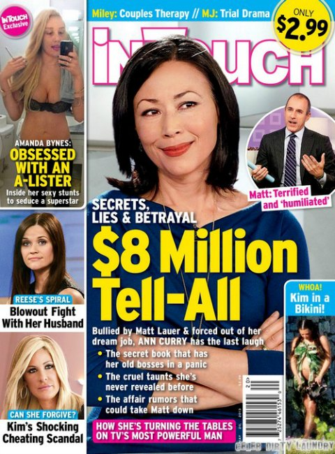 Ann Curry Writing $8 Million Tell All Book Against Matt Lauer & 'Today' (Photo)