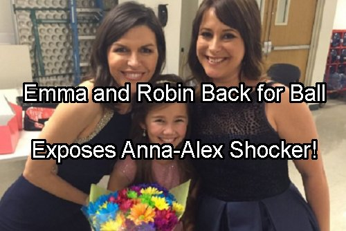 General Hospital Spoilers: Robin and Emma Back for May Sweeps – Expose Alex at Nurses Ball