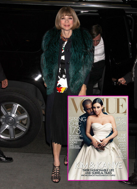 Anna Wintour Defends Kim Kardashian And Kanye West Vogue Cover: They Define Our Culture!