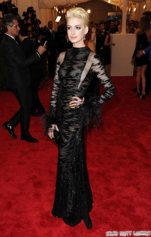 Anne Hathaway Blonde: Desperate To Change Her Image - Punk or Peter Pan?