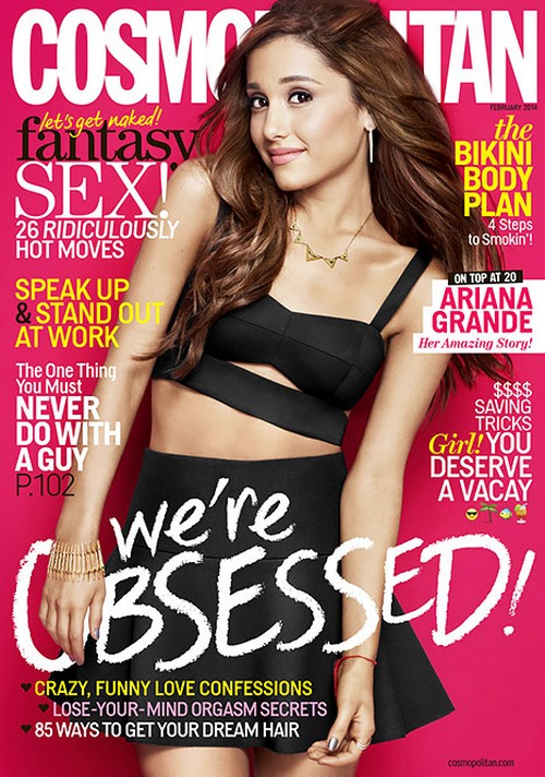Ariana Grande Covers Cosmo, Calls Herself An 'Old Soul'