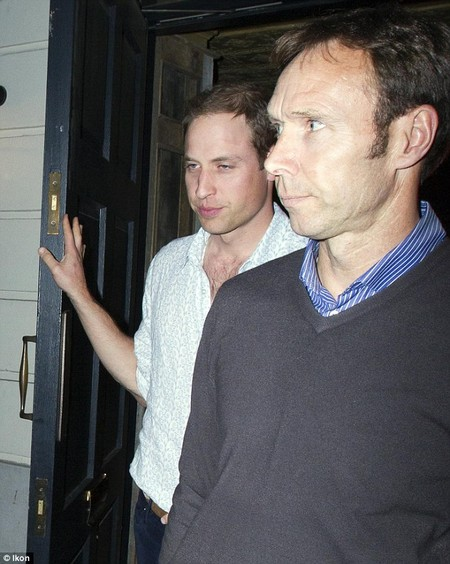 prince william goes clubbing,prince william,prince harry,kate middleton,prince harry
