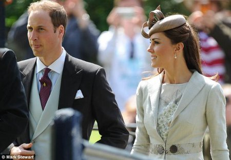 Prince William and Kate Middleton Look Hot and Spicy Together at the Wedding of Princess Diana's Niece Emily McCorquodale (Photos)