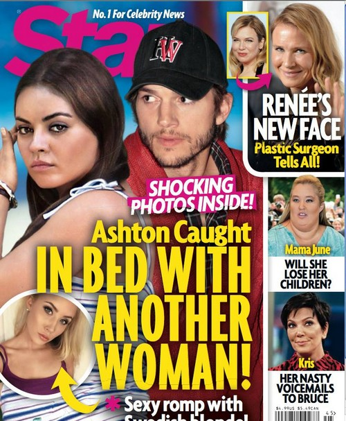 Ashton Kutcher Caught Cheating On Mila Kunis? (PHOTO)