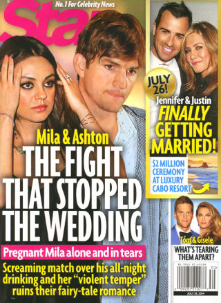 Ashton Kutcher And Mila Kunis Reported Break Up Over World Cup - Mila Pregnant And Alone, Wedding Canceled?