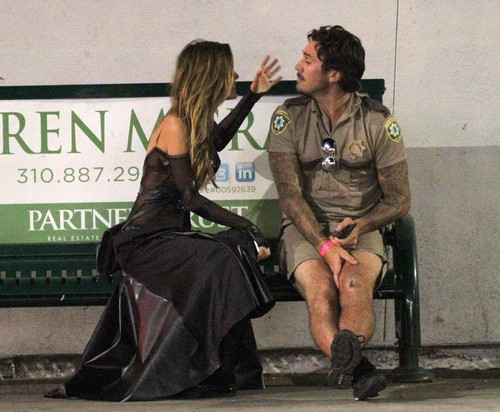 Audrina Patridge, Corey Bohan Drunk Crying Fight At Halloween Party – The Hills Star Sobs on Sidewalk (PHOTOS)