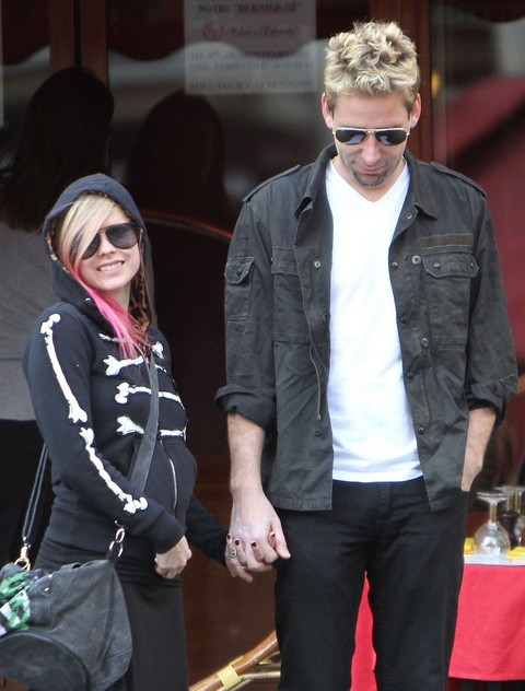 Exclusive: Avril Lavigne Pregnant With Chad Kroeger's Baby Bump (Photo)