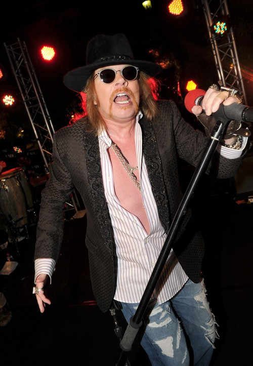 Axl Rose Dead According To Fake MSNBC Guns N' Roses Death Hoax - Singer NOT Dead!
