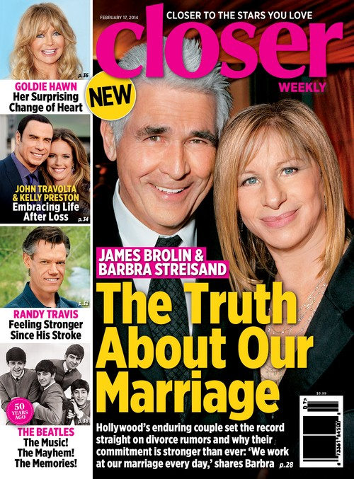Barbra Streisand And James Brolin Reveal The Truth About Their Marriage