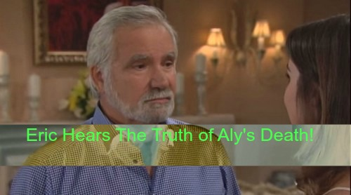The Bold and the Beautiful (B&B) Spoilers: Eric Learns the Truth of Steffy's Involvement in Aly's Death and Ivy's Blackmail