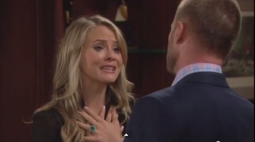 The Bold and the Beautiful Spoilers: Caroline Begs Rick For Forgiveness, Angry Eric Confronts Ridge, Big Brother Halloween Bikini Bar