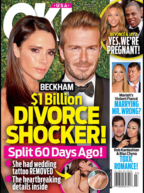 Victoria Beckham And David Beckham Divorce Drama: Quietly Dividing Up $1 Billion Empire - Living Separate Lives?