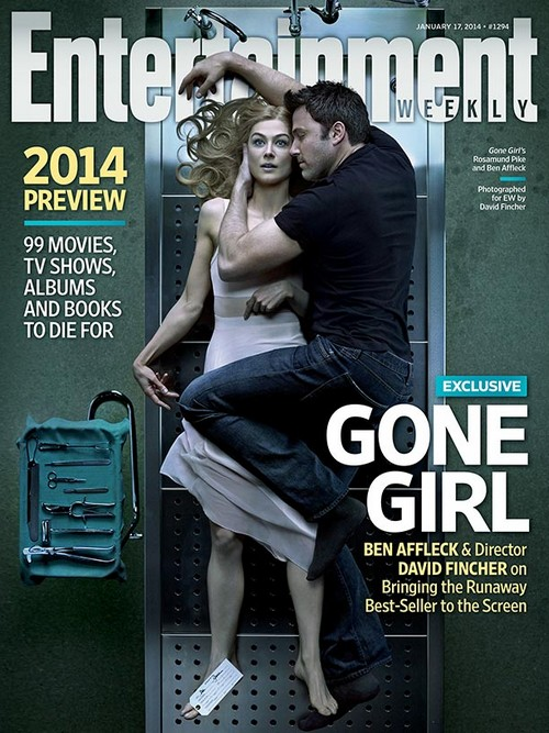 Ben Affleck And Rosamund Pike Cover EW In Sexy Pose, Jennifer Garner Jealous And Humiliated (PHOTO)