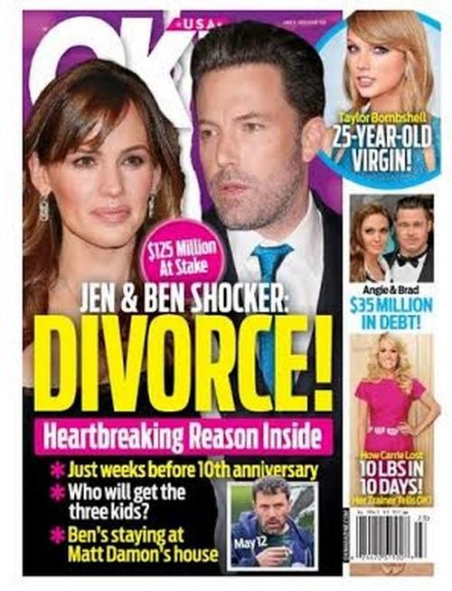 Ben Affleck and Jennifer Garner Divorce Over Cheating and Gambling Scandals – Jen Wants Full Custody of Kids?