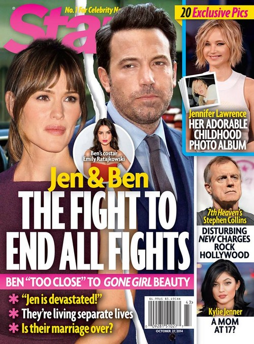 Jennifer Garner Fighting With Ben Affleck Over Sexy Gone Girl Emily Ratajkowski: Jennifer Jealous? (PHOTOS)
