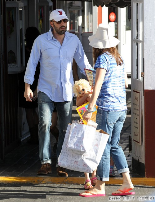 Jennifer Garner and Ben Affleck Fight Over Reality TV Show - Jen Wants One But Ben Says No!