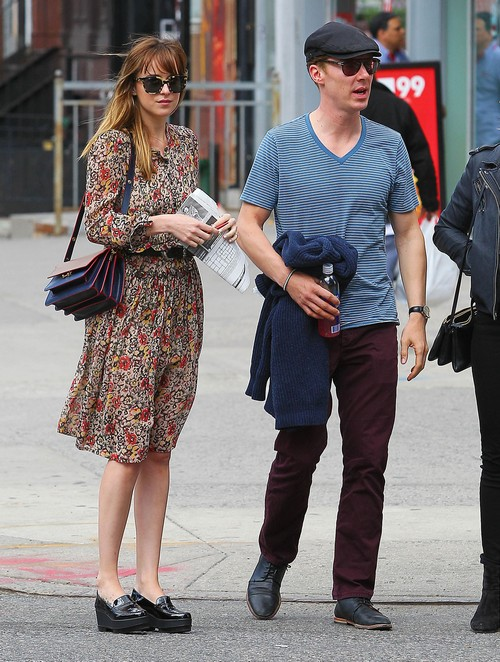 Benedict Cumberbatch and Dakota Johnson Dating - His Secret Girlfriend? (PHOTOS)