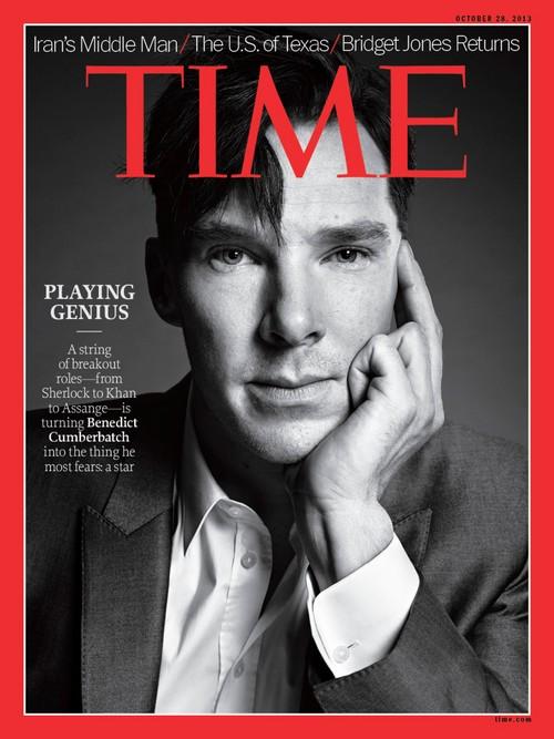 Benedict Cumberbatch Covers Time Magazine