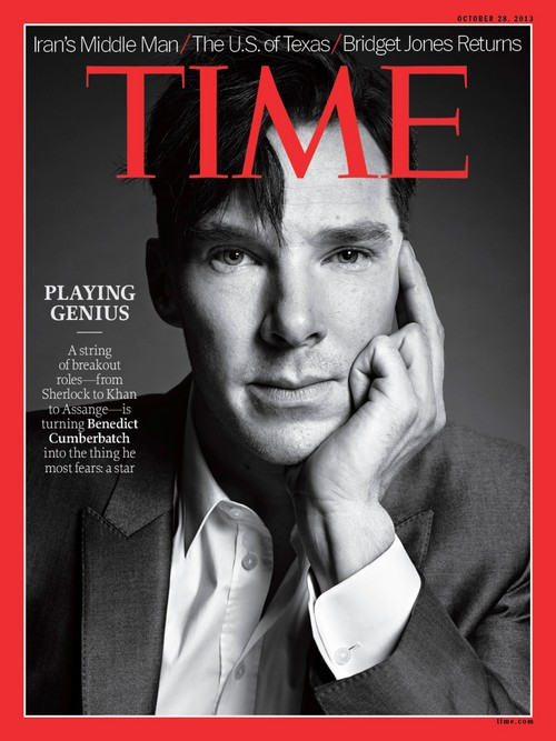 Benedict Cumberbatch Covers Time Magazine