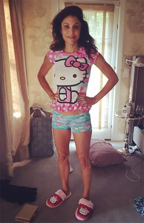 Bethenny Frankel Posts Ridiculous Photo Of Herself Dressed Up In Daughter's Pajamas - Wants World To Know She's Skinny!