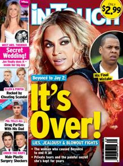 "Beyonce Divorce: Tells Jay-Z ""It's Over"" - Cheating Affairs Too Much To Handle (PHOTO)"