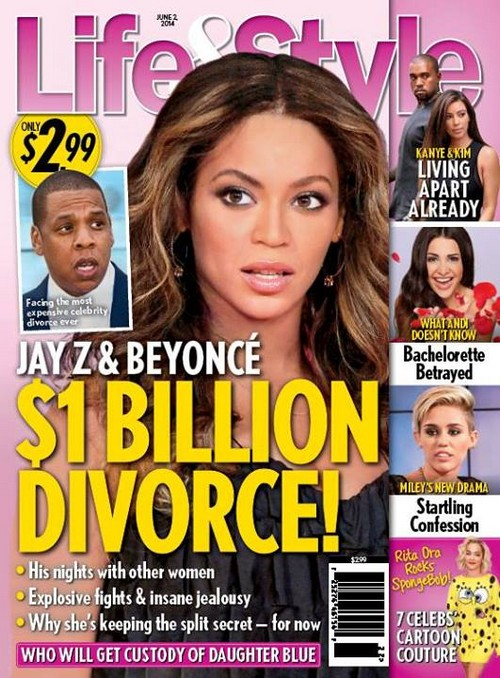 Related : Beyonce , Celebrity Breakup , Jay-Z , Tabloid Wednesday