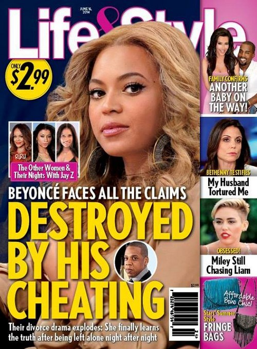 Beyonce Divorce From Jay-Z: Cheated With Rachel Ray, Rita Ora and Rihanna? (PHOTO)