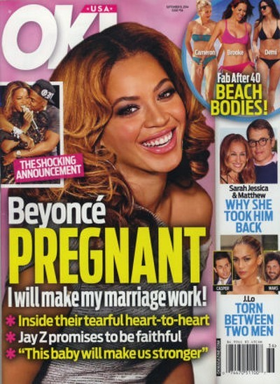 Pregnant Beyonce Divorce Update: Hoping Baby Will Save Marriage To Jay-Z (PHOTO)