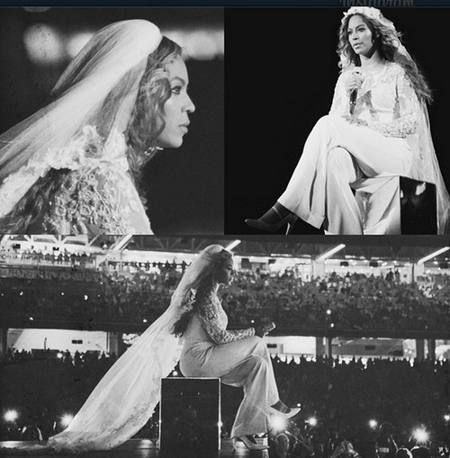 """Beyonce Sings Divorce: Accuses Jay-Z of Cheating With a """"White B**ch"""""""