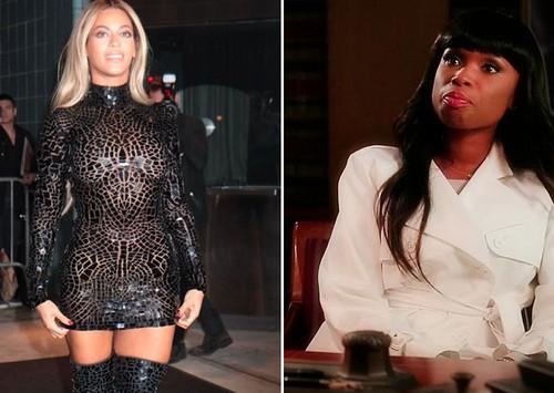 Beyonce Boob Slip: Breasts Exposed at Super Bowl Party - Wardrobe Malfunction? (PHOTOS)