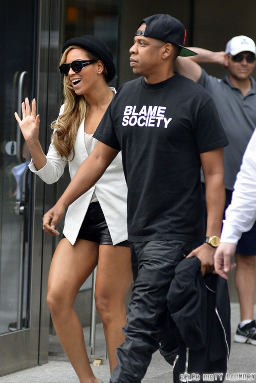 Beyonce Congratulates Kim Kardashian And Kanye West On Baby - Forced By Jay-Z?