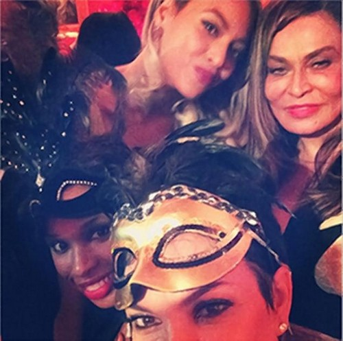 Kim Kardashian and Kanye West Snub Beyonce: Blow Off Tina Knowles Birthday Bash