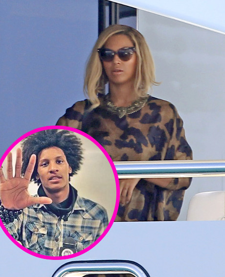 Beyonce and her dancer laurent bourgeois embroiled in secret sexy