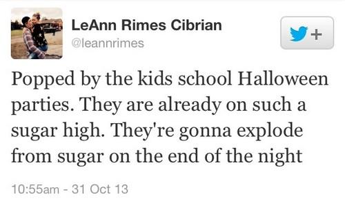 LeAnn Rimes Ruins Brandi Glanville's Halloween and Says Eddie Cibrian Is Like Martha Stewart