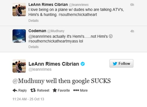 LeAnn Rimes is A Demon, Brandi Glanville A Saint - The Winner Is Really The Loser