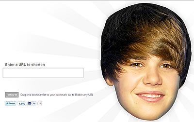 You Can Now 'Bieber' Your URLs!