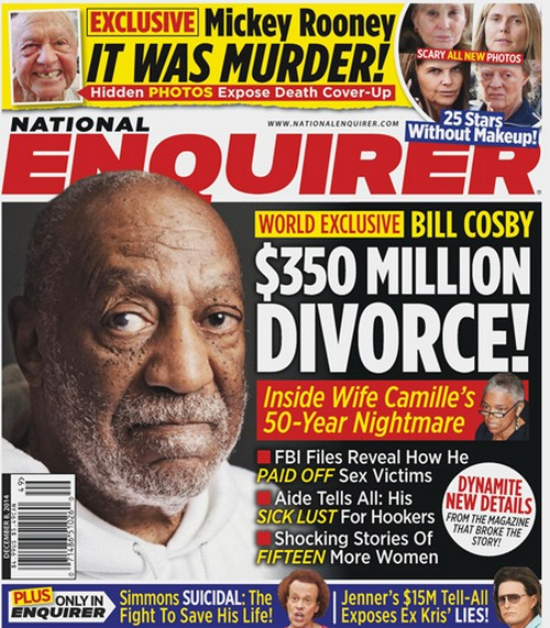 Bill Cosby, Camille Cosby Divorce: The $350 Million Split - Inside Wife Camille's 50-Year Nightmare! (PHOTO)