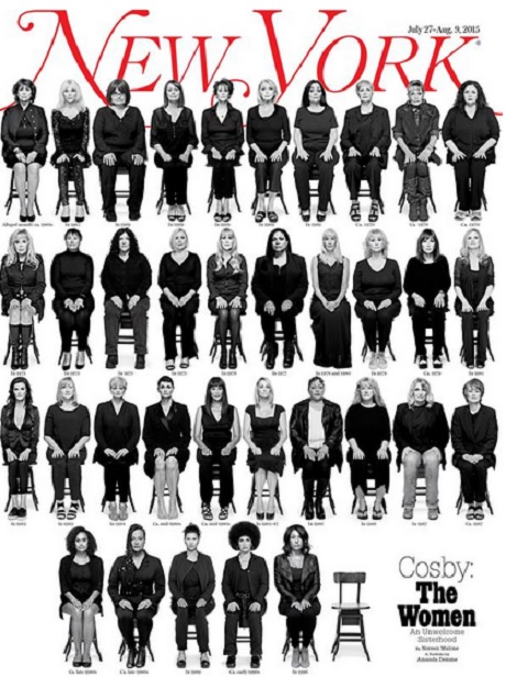 Bill Cosby's Rape Victims Come Together In Haunting New York Magazine Cover Pic: 35 Women Tell Their Stories (Photo)