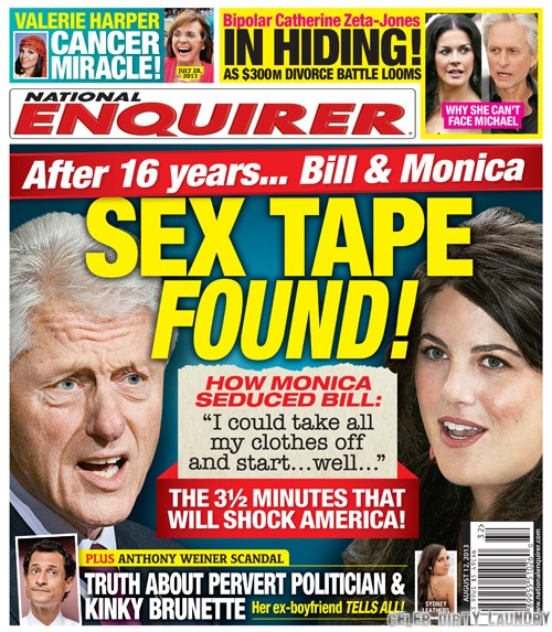 Bill Clinton and Monica Lewinsky's Sex Tape: Hillary Clinton Faces More Humiliation (PHOTO)