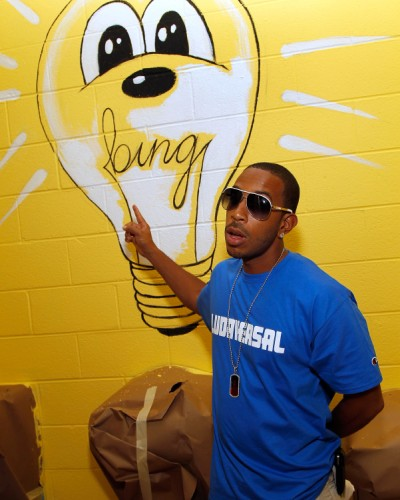 Ludacris, Keri Hilson and Far East Movement Help Out With 'Bing Summer of Doing' at Osborne High School (Photos) 0621