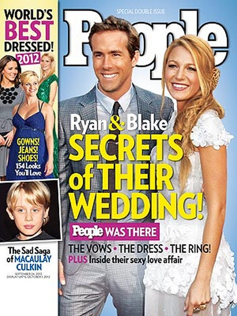 Secrets Of Blake Lively and Ryan Reynolds Wedding