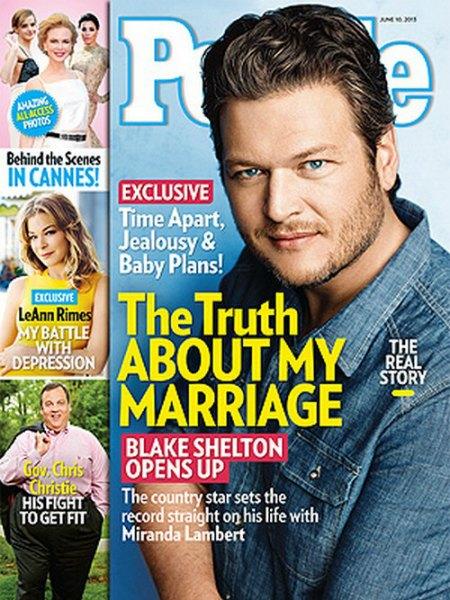 Blake Shelton Lets Miranda Lambert Go Through His Phone & Computer