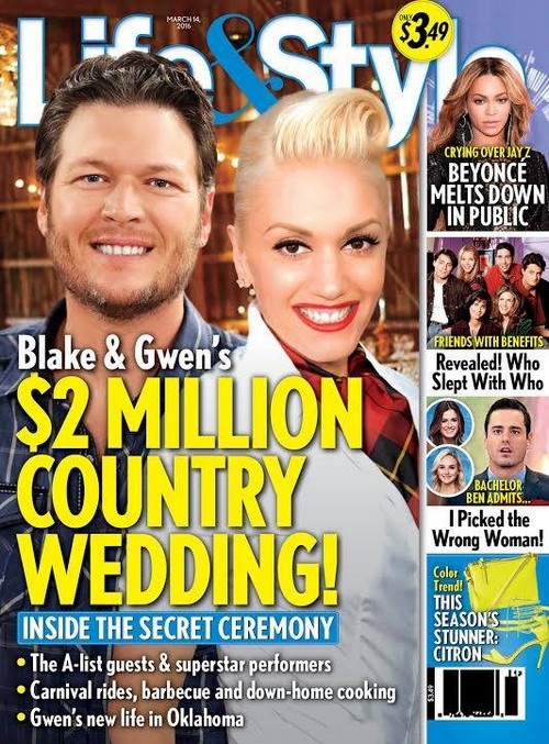 Miranda Lambert Screams 'NO' to Gwen Stefani and Blake Shelton Wedding Plans: $2 Million Hometown Hoedown Ceremony?